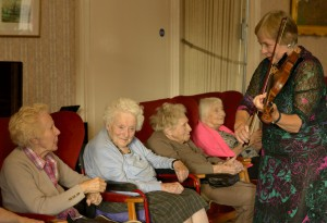 Residents and musician