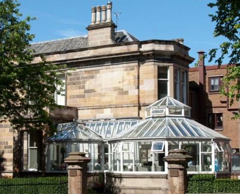 Balmanno house - conservatory